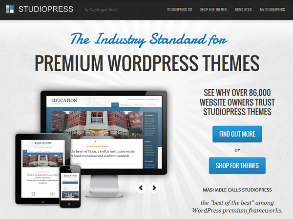 studiopress wordpress themes