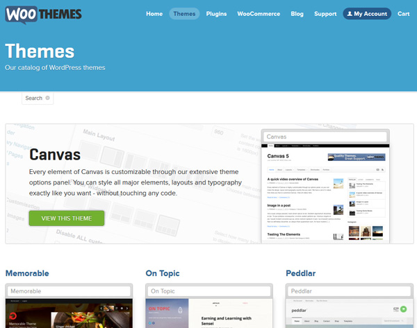woothemes wordpress themes